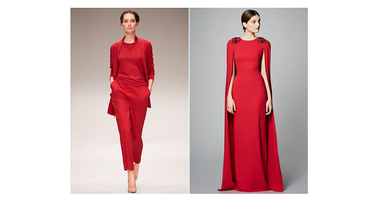 """""""Total red"""" look"""