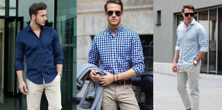 Men in shirts