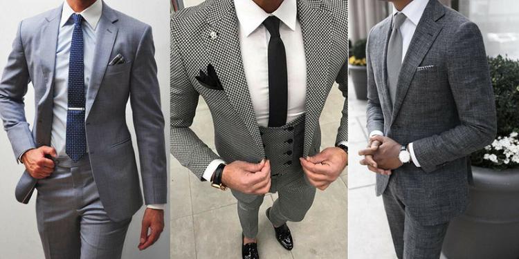 A classic men's suits